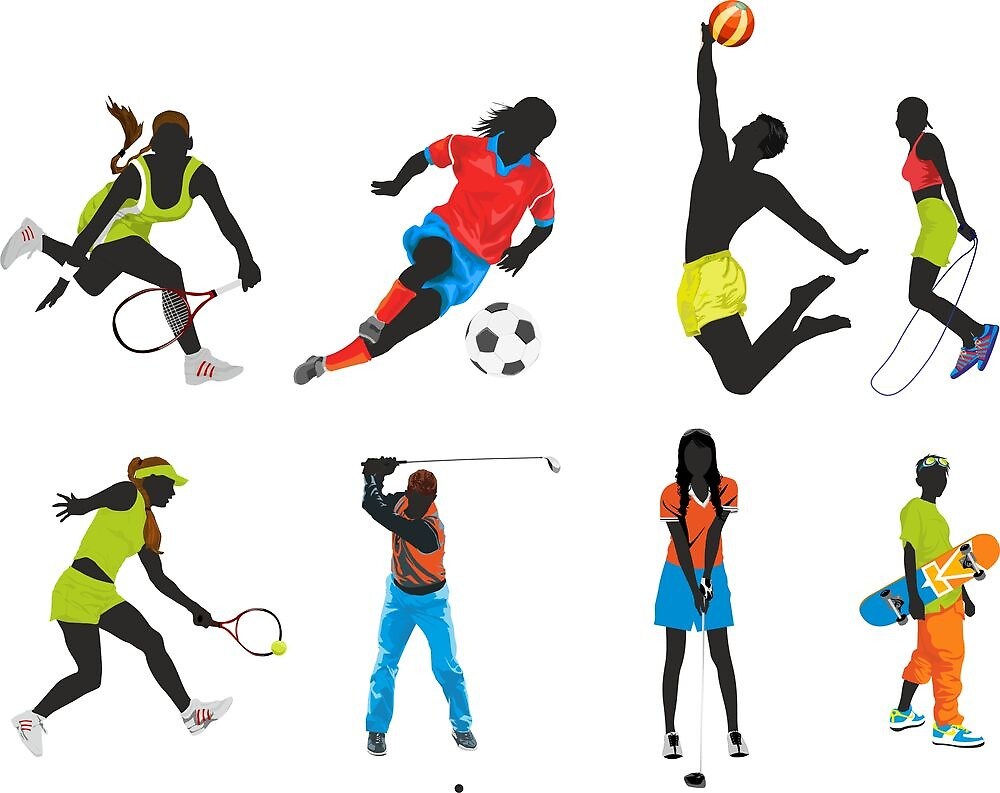sport silhouettes by kikoste