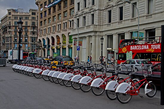 Barcelona By Bike by GW-FotoWerx