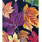 Autumn Leaves iPhone Case by Linda Callaghan