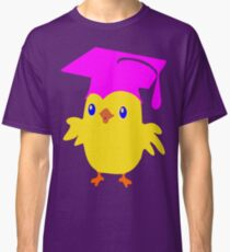 ღ°ټGorgeous Blue Eyed Nerd Chick on a Graduation Cap Clothing& Stickersټღ° Classic T-Shirt