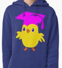 ღ°ټGorgeous Blue Eyed Nerd Chick on a Graduation Cap Clothing& Stickersټღ° Pullover Hoodie