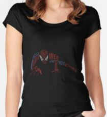 With Great Power Women's Fitted Scoop T-Shirt