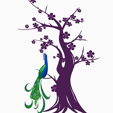 peacock blossoms by Sockpuppet