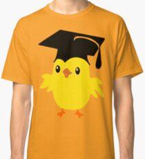 ღ°ټAdorable Nerd Chick on a Graduation Cap Clothing& Stickersټღ° Classic T-Shirt