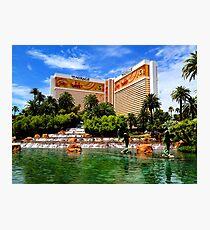 The Mirage Hotel Photographic Print