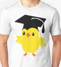 ღ°ټAdorable Nerd Chick on a Graduation Cap Clothing& Stickersټღ° Unisex T-Shirt