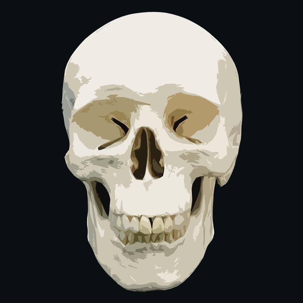 skull by NAMETHEGREY