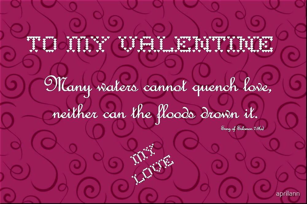 To My Valentine by aprilann