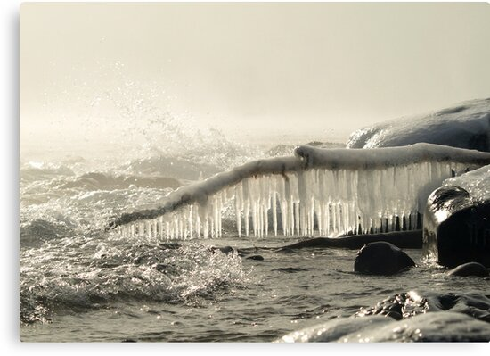 Frozen Spray by Sian Houle