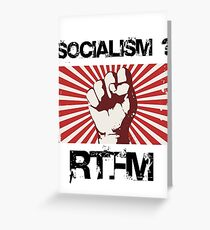 Socialism - Read the $@#! Manual. Greeting Card