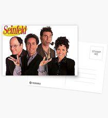 Seinfeld Cast Postcards
