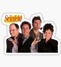 Seinfeld Cast Sticker