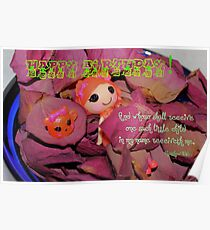 Happy Birthday - Child Poster