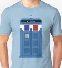 Allons-y! Tardis T-Shirt