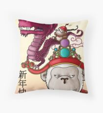 Chinese New Year 2012 Throw Pillow