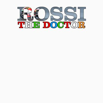 Valentino Rossi - The Doctor by loutolou