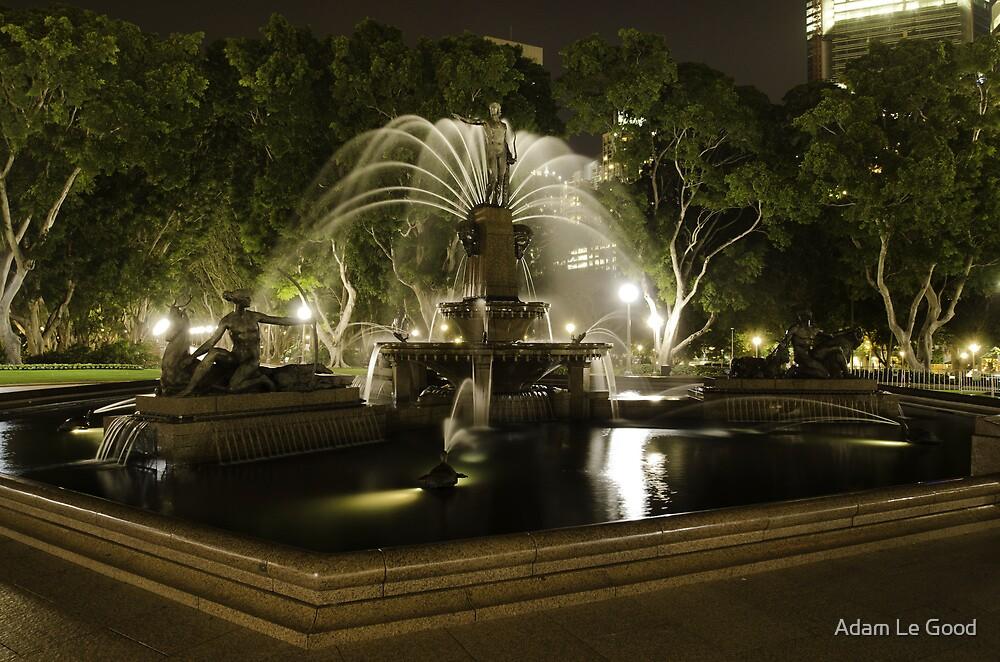 Archibald fountain III by Adam Le Good