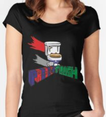 Project Flush Women's Fitted Scoop T-Shirt
