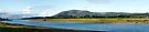 River Nith Panoramic Landscape by Richard Flint