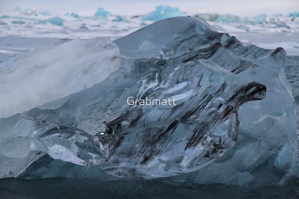 Jokulsarlon Glacier Lagoon Iceland by Grabmatt