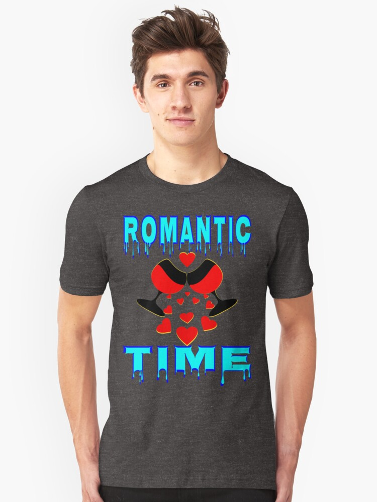 °•Ƹ̵̡Ӝ̵̨̄Ʒ♥Romantic Time Splendiferous Clothing & Stickers♥Ƹ̵̡Ӝ̵̨̄Ʒ•° Unisex T-Shirt Front