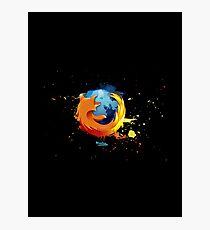 Firefox - Mozilla Photographic Print