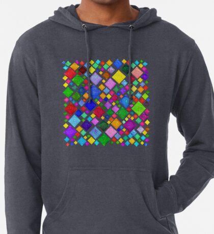 #DeepDream Color Squares Visual Areas 5x5K v1448787318 Transparent background Lightweight Hoodie