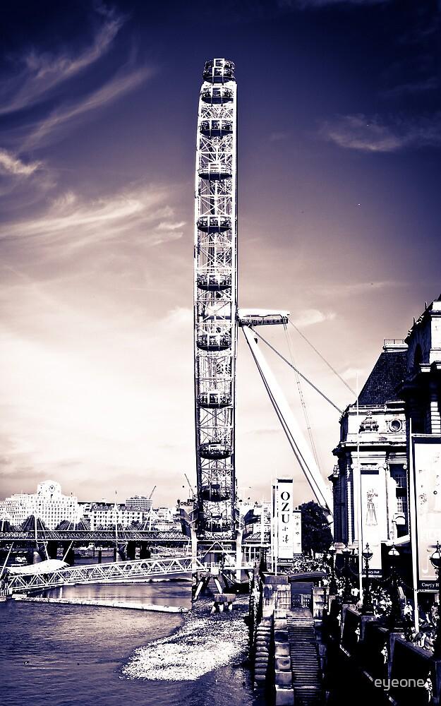 The London eye by eyeone