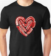 Bacon Heart Unisex T-Shirt