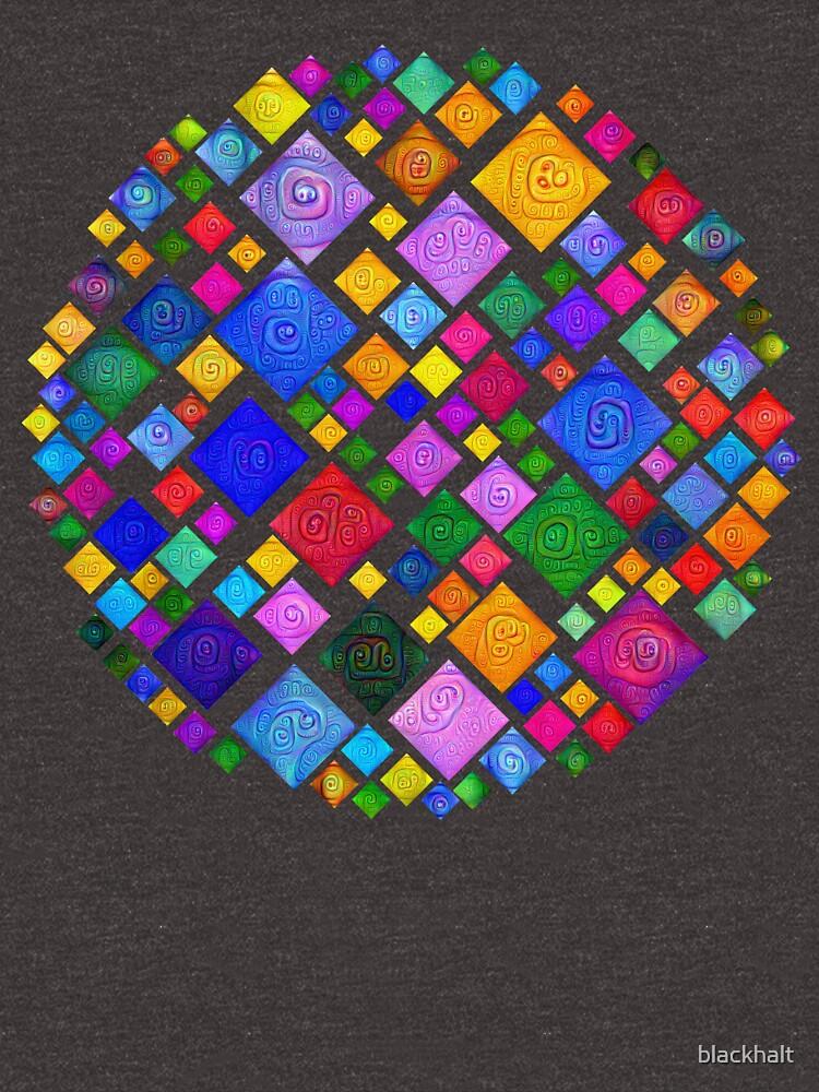 #DeepDream Color Squares Square Visual Areas 5x5K v1448810610 Transparent background by blackhalt