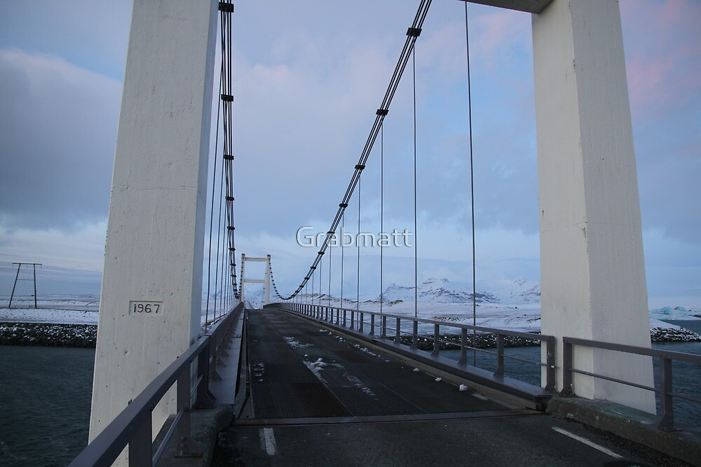 Jökulsárlón Glacial Lagoon Iceland by Grabmatt