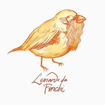 Leonardo da Finchi by sweetlynumb