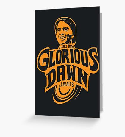 Glorious Dawn Greeting Card