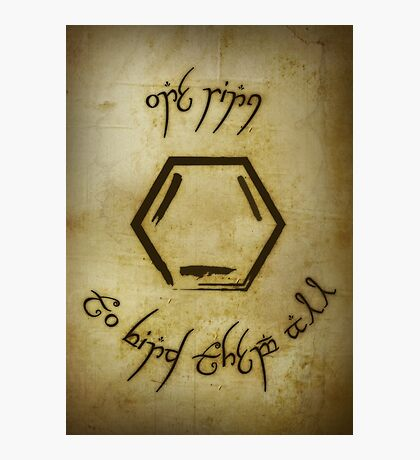 One Ring Photographic Print