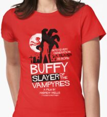 Slayer of the Vampyres Tailliertes T-Shirt für Frauen