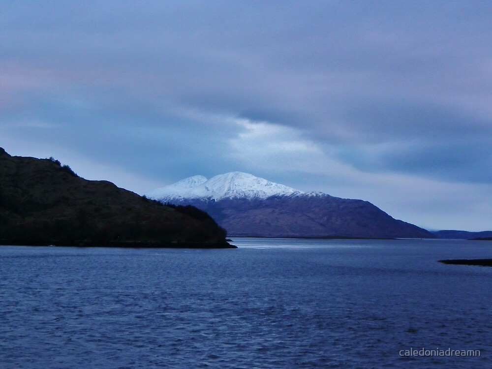 That First Glimpse of Skye by caledoniadreamn