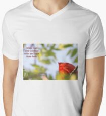 Make your own Cardinal rules and learn from them. Men's V-Neck T-Shirt