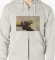 Try Leaping Zipped Hoodie