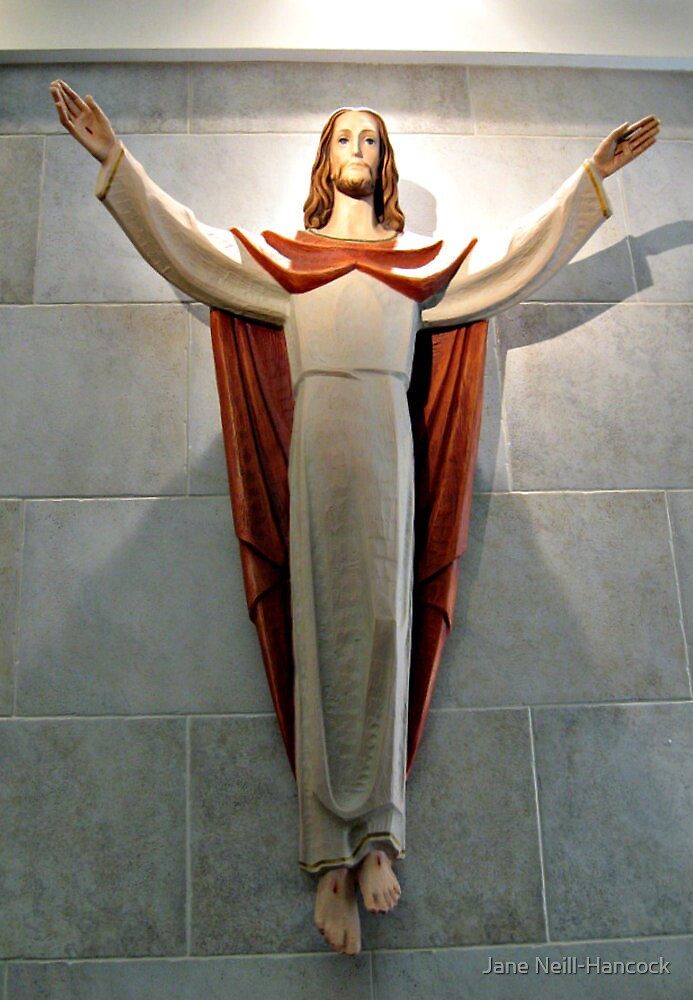 The Risen Christ, Lobby of St Clare's Hospital by Jane Neill-Hancock