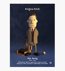 Alan Turing - Enigma-trick Photographic Print
