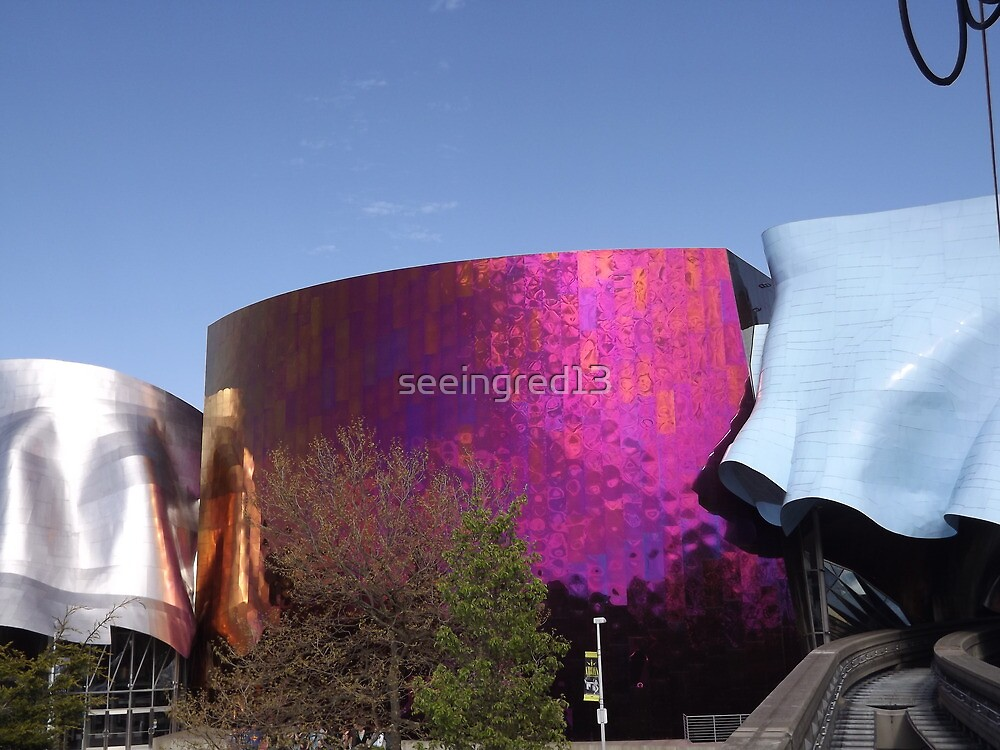 Seattle EMP Museum & Monorail Tunnel by seeingred13