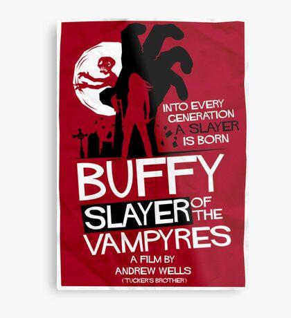 Slayer of the Vampyres Metal Print