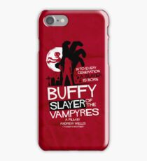 Slayer of the Vampyres iPhone Case/Skin