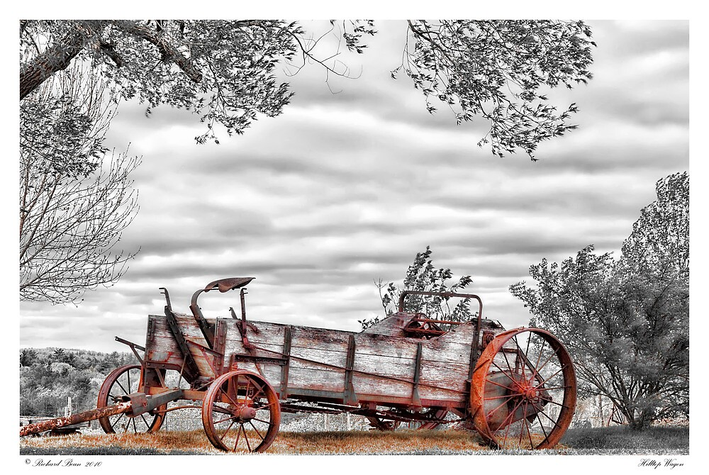 Hilltop Wagon by Richard Bean