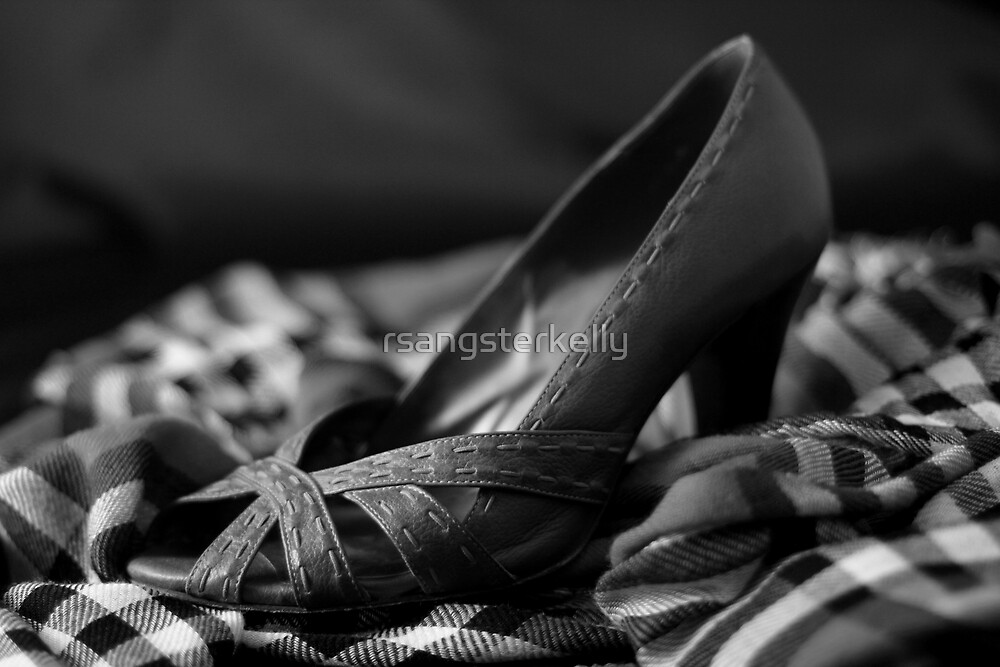 Still Life - Plaid & Heels by rsangsterkelly