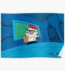 Dexter - Dexter's Laboratory (Production Cel) Poster