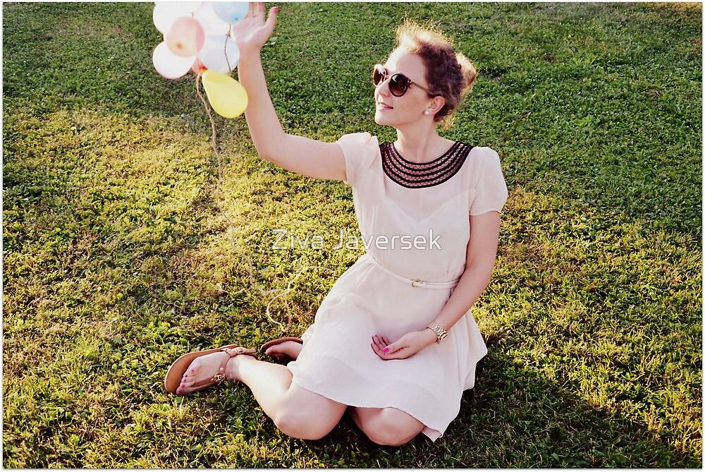 Baloons by Ziva Javersek