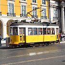 tram in lisbon by Ziva Javersek