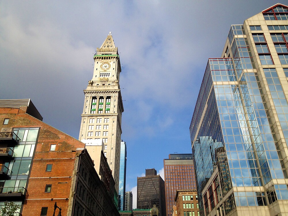The Custom House Tower by d1373l