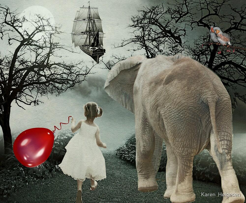 Ship of Dreams.... by Karen  Helgesen